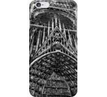 Strasbourg Cathedral in Alsace France iPhone Case/Skin