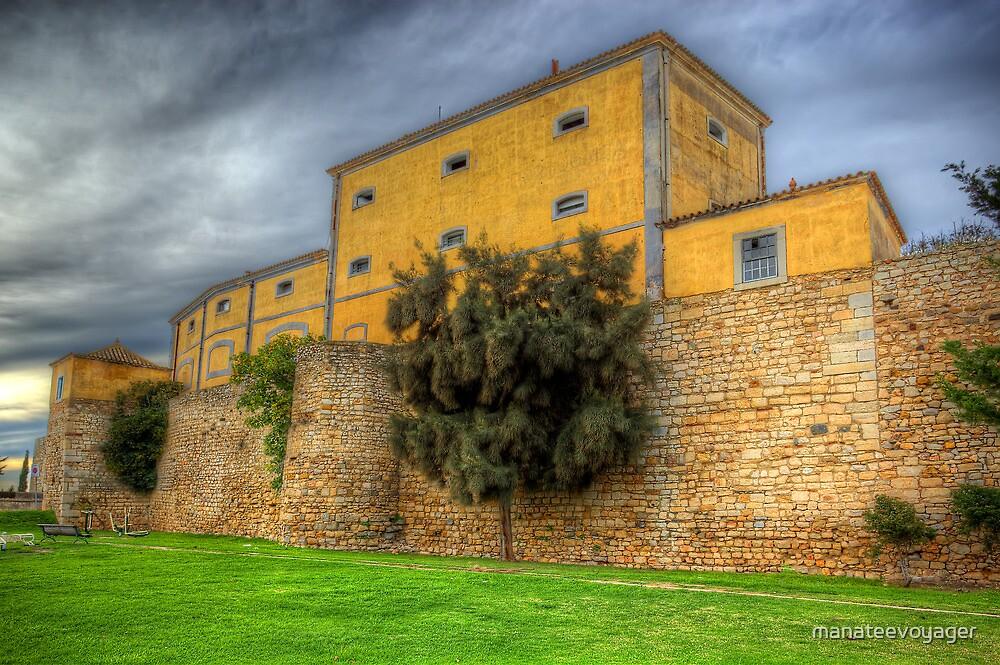 Faro City Walls by manateevoyager