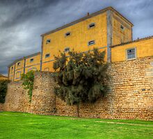 Faro City Walls by manateevoyager