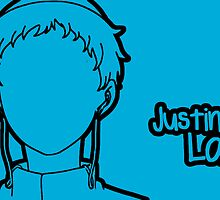 Justin Law silhouette print by sweetsheart