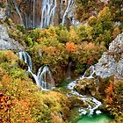 Plitvice Lakes in Croatia by Artur Bogacki