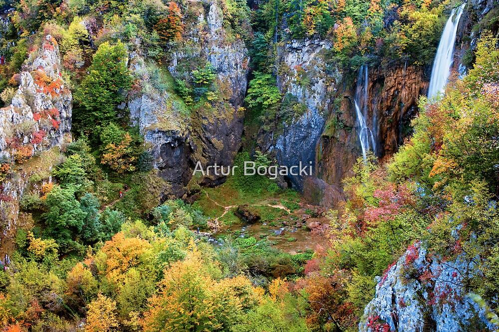 Autumn Valley by Artur Bogacki