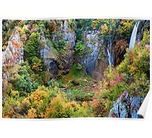Autumn Valley Poster