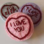 Sweet Love Hearts by owlsinstitches