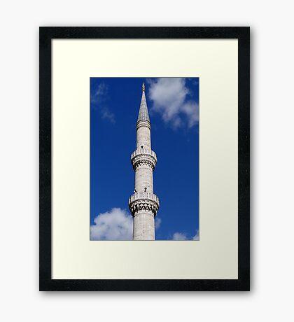 Turkish Minaret Framed Print