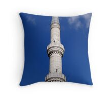 Turkish Minaret Throw Pillow