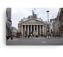 The Royal Exchange in London Canvas Print