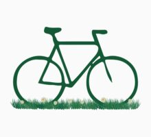 Green Grass Bicycle by PaulHamon