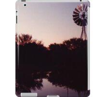 Windmill sunset iPad Case/Skin