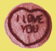 Sweet Love Heart - I Love You Kids Tee
