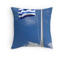 Greek Pride Throw Pillow