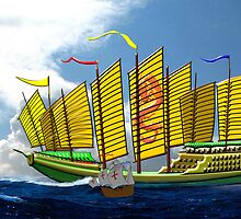 Made in China - Zheng He Flagship 1405 by Dennis Melling