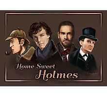 Sherlock: Home Sweet Holmes Photographic Print