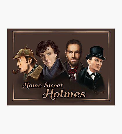 Sherlock: Home Sweet Holmes Photographic Print