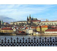 Prague - skyline with Castle district Photographic Print
