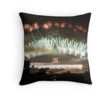 2013 NYE Sydney Throw Pillow