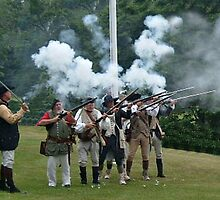 Musket Fire to Celebrate Independence Day by Jane Neill-Hancock