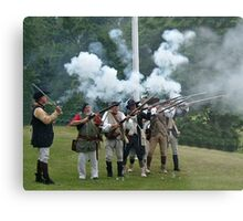 Musket Fire to Celebrate Independence Day Metal Print