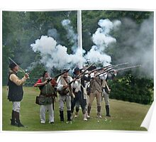 Musket Fire to Celebrate Independence Day Poster