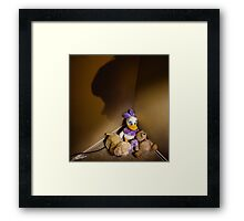 Furry Fearing Never Again Framed Print