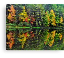 Mother Nature Paints With Watercolors II Canvas Print