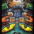Monster Aztec style by Ruben Rade