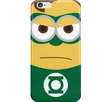 Despicable Me Minions Superheros Green Lantern iPhone Case/Skin