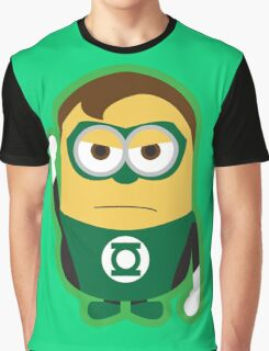 Despicable Me Minions Superheros Green Lantern Graphic T-Shirt