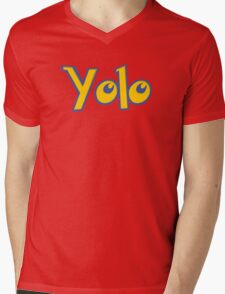 Yolo Mens V-Neck T-Shirt