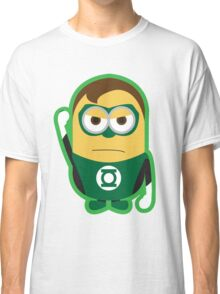 Despicable Me Minions Superheros Green Lantern Classic T-Shirt
