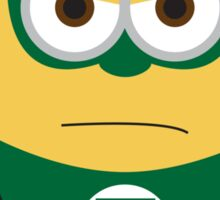Despicable Me Minions Superheros Green Lantern Sticker