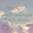 My Dream  by Vintageskies