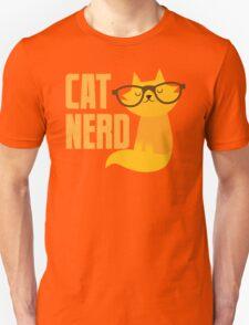 CAT NERD (professional vet or self-proclaimed expert on cats!) Unisex T-Shirt