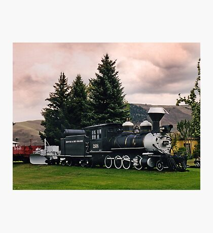 D&RGW C-16 #268 Gunnison, CO Photographic Print