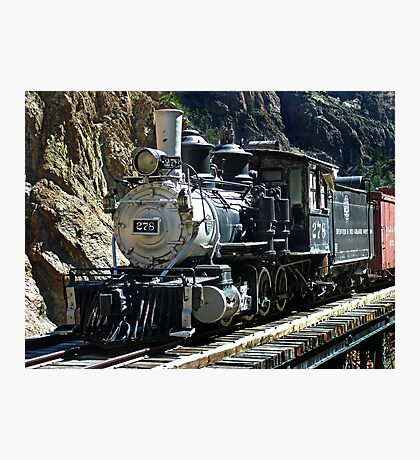 D&RGW C-16 #278 Cimmeron, CO Photographic Print