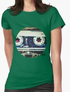 Mix-tape Womens Fitted T-Shirt