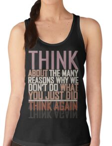 Think Women's Tank Top