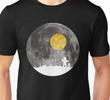 Baby Bear and The Moon Unisex T-Shirt