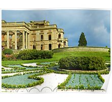 Old English Country Garden Poster