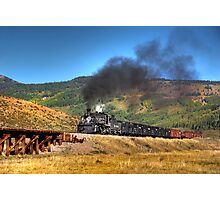 Cumbres & Toltec Freight Photo Charter Photographic Print