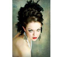 Feathery Glitz Photographic Print