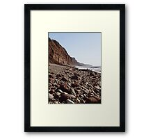 Red Cliffs Framed Print