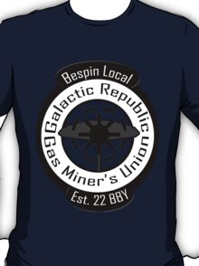 Bespin Local Gas Miner's Union T-Shirt