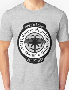 Bespin Local Gas Miner's Union Unisex T-Shirt