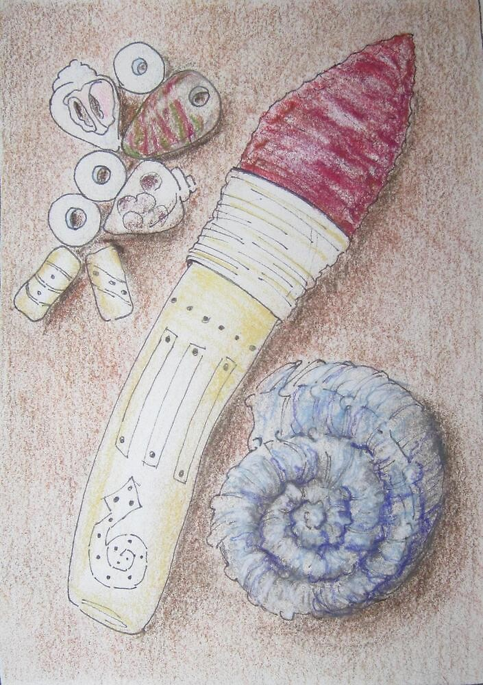Artifacts: Shell, Stone and Bone by Susan Genge