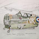 Spitfire Mk 1 cockpit at Brooklands by Jack Froelich