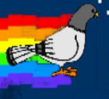 nyan pigeon Sticker
