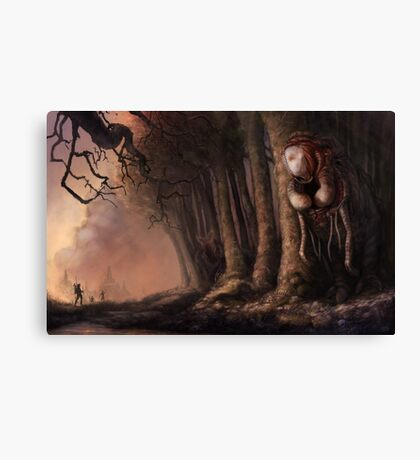 The Fabled Giant Women of the Woods Canvas Print