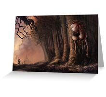The Fabled Giant Women of the Woods Greeting Card