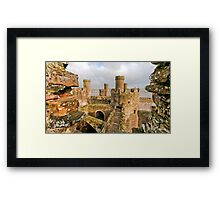Conwy Castle Framed Print